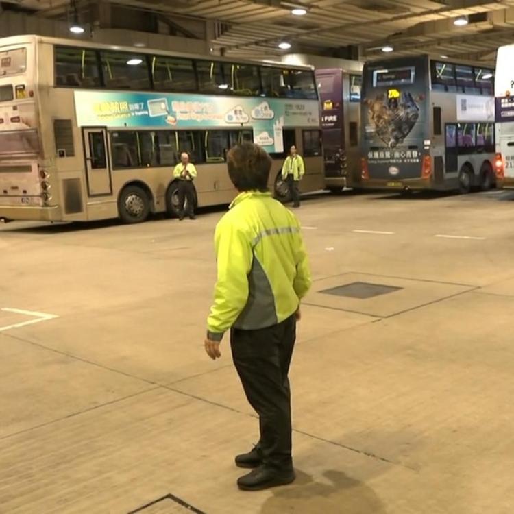 香港九巴車長發起罷駛行動