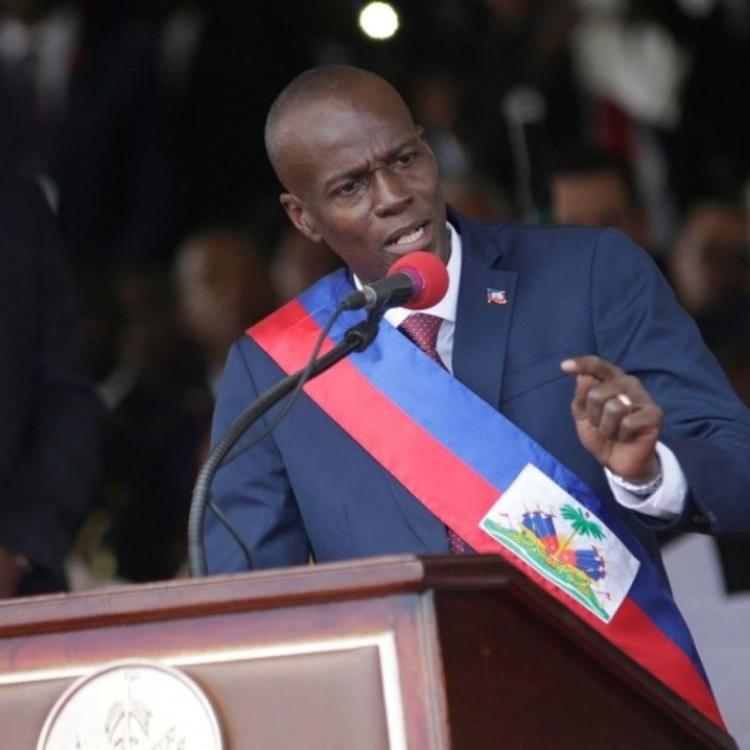 海地總統摩依士明起訪台五日