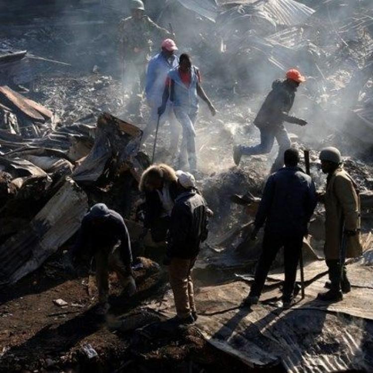 肯尼亞首都市場大火 至少85死傷
