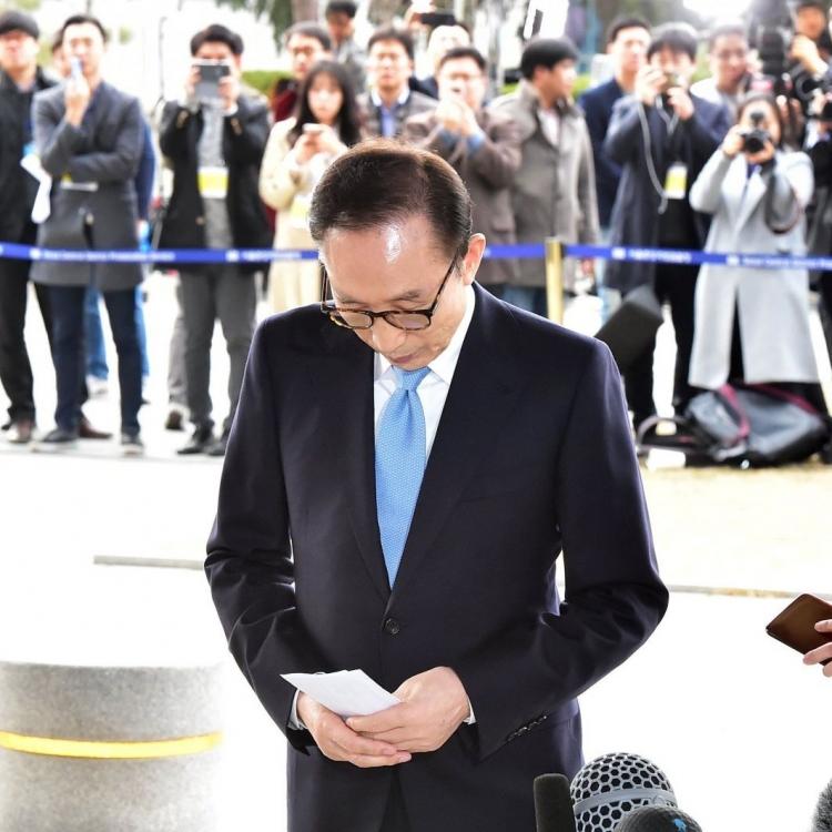 韓法院批准逮捕前總統李明博