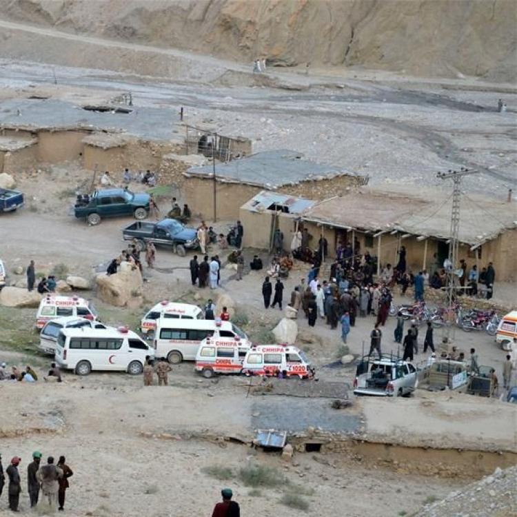 巴基斯坦兩煤礦發生礦難40死傷
