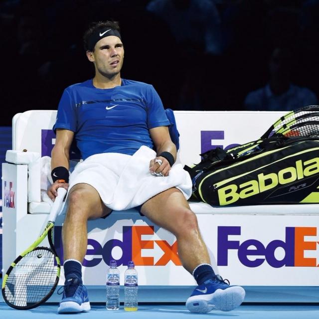 拿度因傷宣布退出ATP年終賽