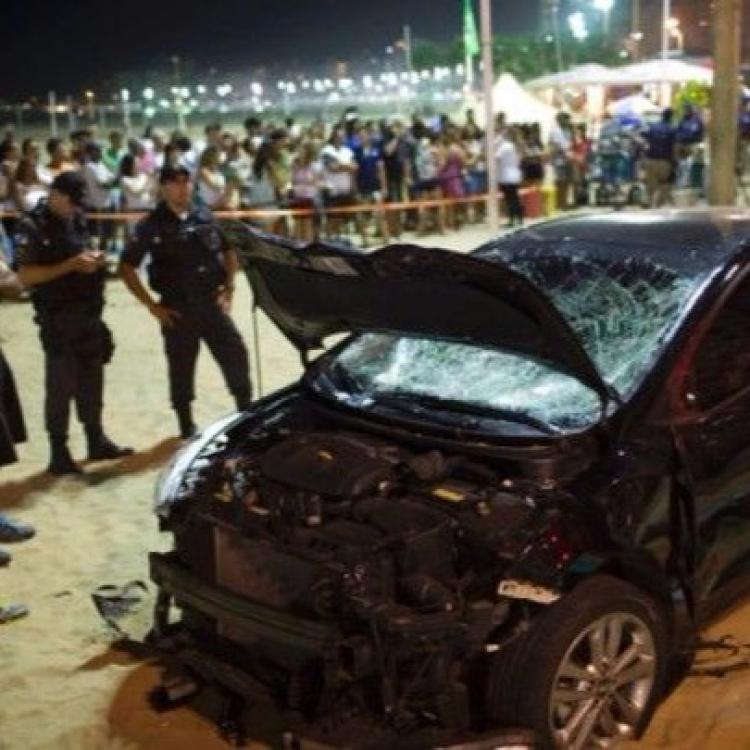 里約熱內盧汽車撞人群一死14傷