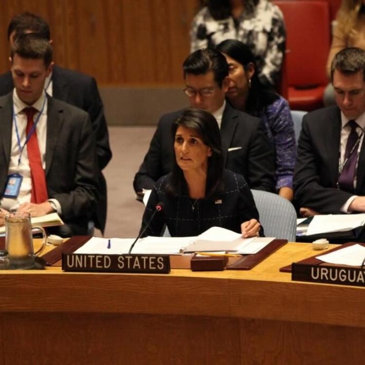 美國或將退出聯合國人權理事會