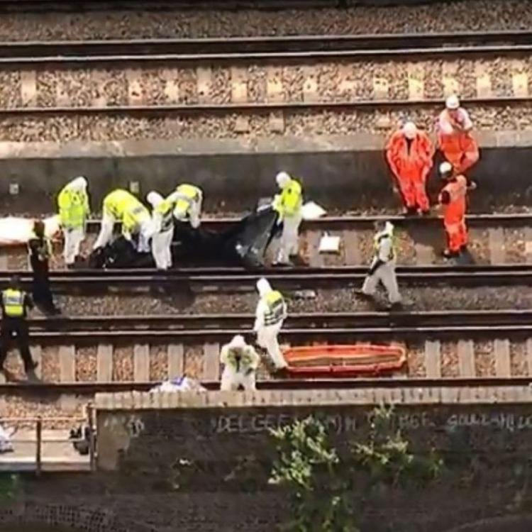 英三名藝術家鐵軌塗鴉 遭火車碾死