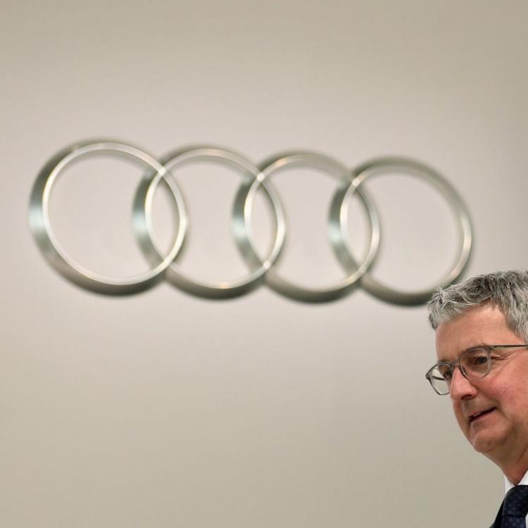 德國奧迪汽車主席被捕