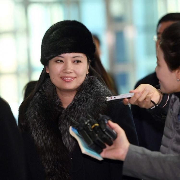 朝鮮冬奧藝術團陸路回國