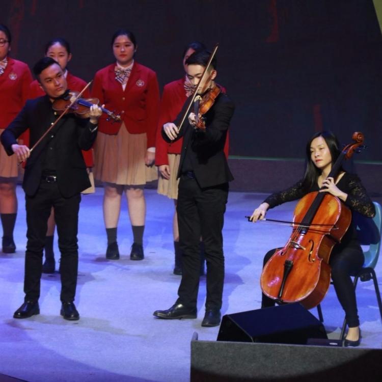 學界青年大匯演盛大開幕