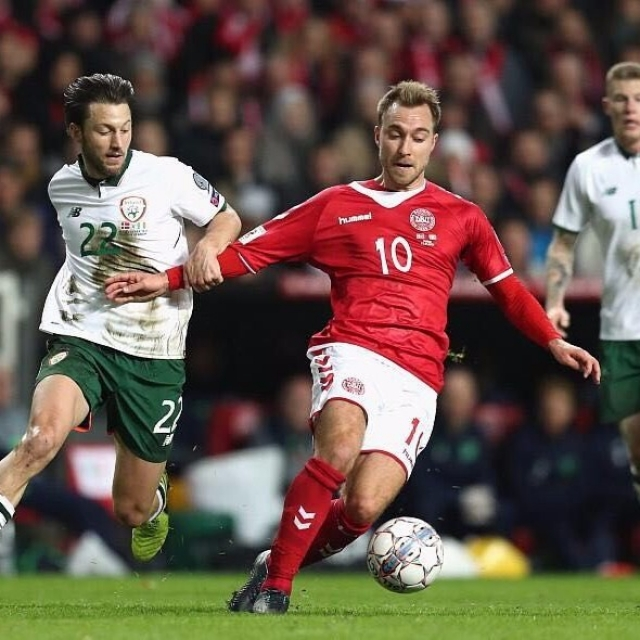丹麥世盃附首戰和愛爾蘭