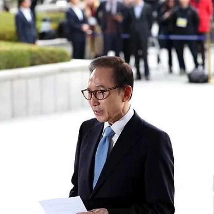 韓前總統李明博涉賄被公訴