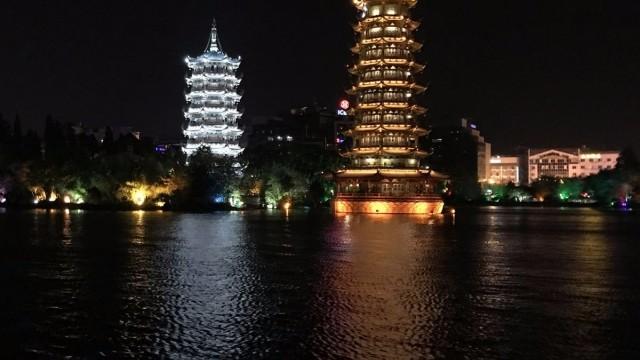 夜遊兩江四湖