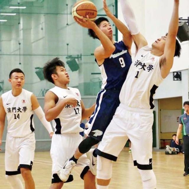 大學籃賽開鑼理工一分贏澳大
