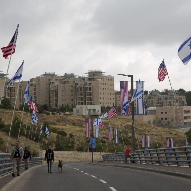 美駐以色列新大使館今將揭幕