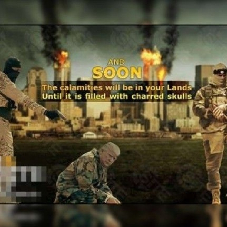 IS新宣傳海報 特朗普成階下囚