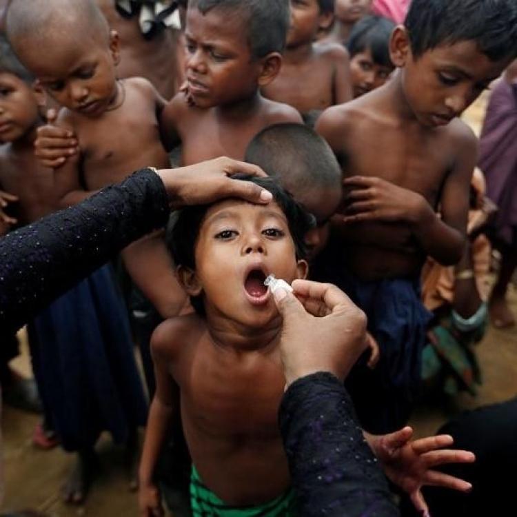 史上最大規模霍亂疫苗接種活動展開