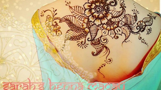 自製獨特Henna紋身