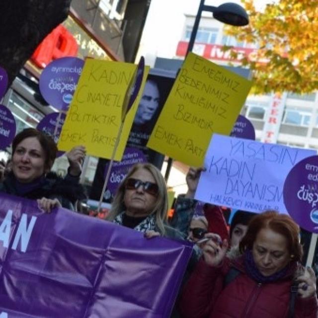 世界多處有遊行抗議對女性暴力