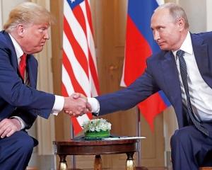 特朗普:會後美俄關係非凡