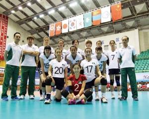 澳門女排亞東錦標賽獲寶貴經驗