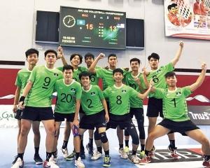 澳門隊U20男排亞錦賽首名晉級