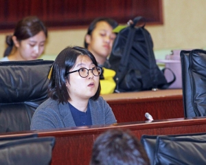 宋碧琪指責黃顯輝抗議