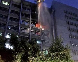 台北醫院火警釀九死