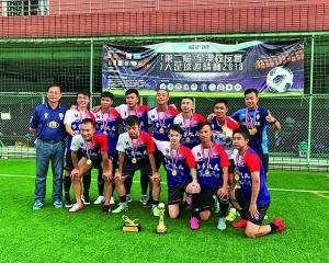 培華蟬聯校友會七人足球賽冠軍