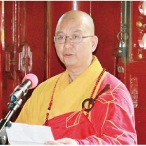 釋學誠辭中國佛協會長