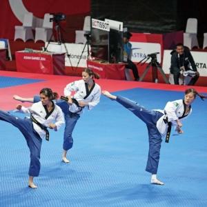 跆拳道品勢個人及團體賽止步