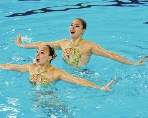 女雙花泳澳門排第九