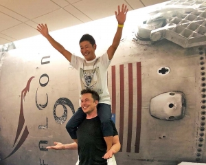 將成全球首名月球旅客
