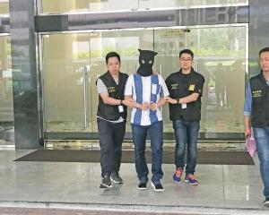 司警拘捕34歲澳門土生男