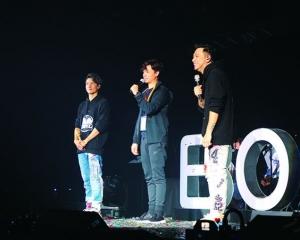 Boy'z重組演唱會大賣煽情