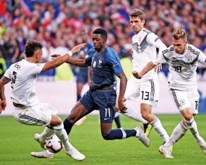 德國歐國聯賽遭法國反勝