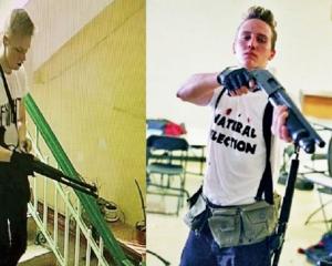 疑仿效美校園槍手犯案