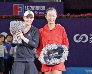 巴蒂捧珠海WTA錦標