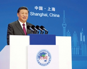 習近平:中國經濟是大海 狂風驟雨掀不翻