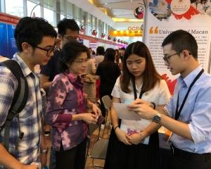 澳門高校赴泰參加教育展覽