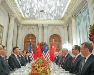 中美貿易戰休兵