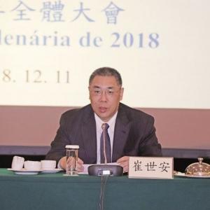 崔世安:提升經濟發展總思路