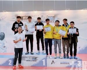 林小山國際劍擊邀請賽摘銅牌