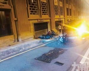 電單車外賣員被撞重傷送院