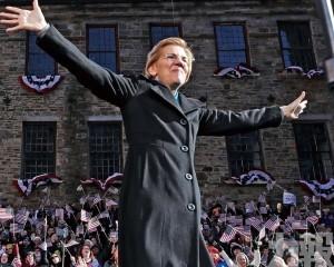 民主黨女將沃倫宣布競選總統