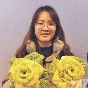 「玫瑰白菜」成情人節爆款