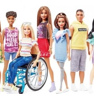 輪椅義肢版芭比6月面世