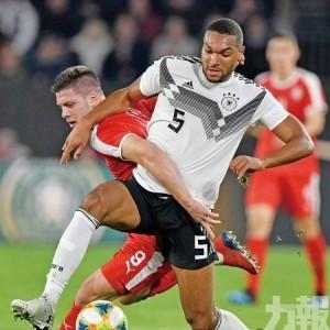 德國友賽1:1迫和塞爾維亞