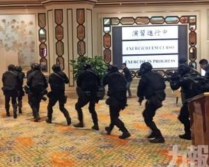 「捕狼2019 」行動演練 模擬多人械劫脅持人質