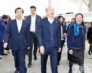 韓國瑜五天簽逾50億訂單