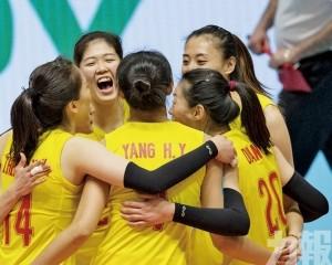中國女排瑞士賽打響勝鼓