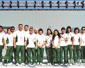 澳門世大運代表出席選手村升旗儀式